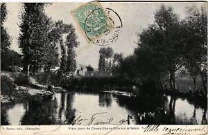 CPA CHAMPLITTE - Vieux Pont de CHAMPLITTE-la-VILLE sur le Salon (636655)