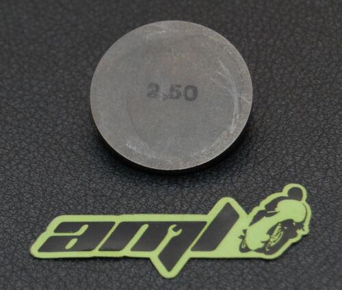 Diamètre = 29mm Pastille de réglage des soupapes Kawasaki KL 600