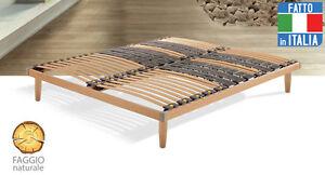 Rete da letto in legno massima ergonomia ebay