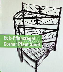 pflanzregal blumentreppe pflanztisch blumenst nder eck regal terrasse balkon 4335896624006 ebay. Black Bedroom Furniture Sets. Home Design Ideas