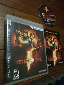 SONY-Sony-PlayStation-3-Game-PS3-RESIDENT-EVIL-5-Complete-In-Box