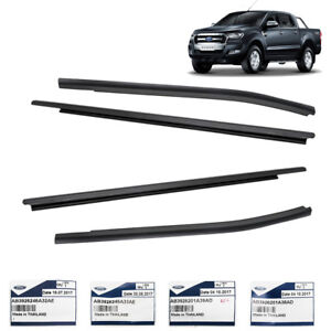 Image Is Loading Black Genuine Window Sill Line Rubber For Ford