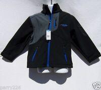 Sears Minus Zero Boys Black, Gray, Blue Long Sleeve Coat Size 4