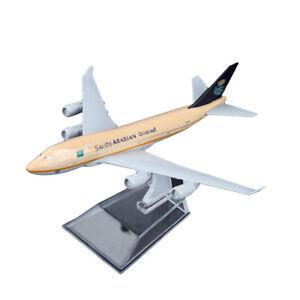 1-400-16cm-B747-Saudi-Arabian-Airline-Diecast-Models-Aircraft-Aeroplane-Plane