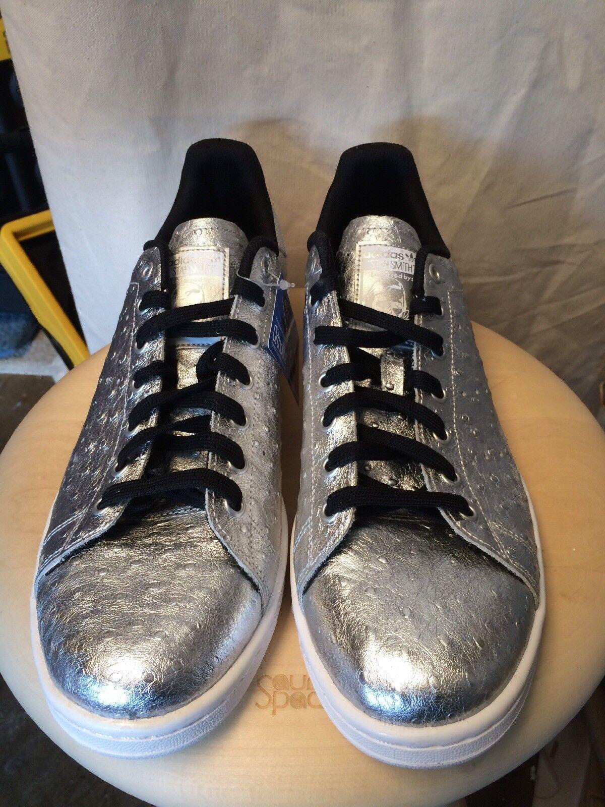 Adidas Men's Originals Stan Smith Sneaker Men's 13 silver
