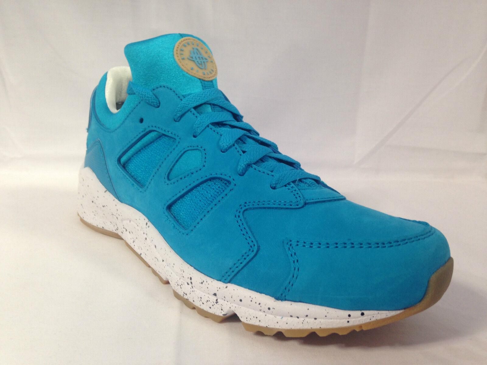 Nike Air Huarache International baby Bleu/speckle/gum 819482 400 tailles: uk 8.5 _ 9
