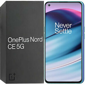 BNIB OnePlus Nord CE 5G Dual-SIM 128GB ROM + 8GB RAM Blue Void Unlocked SIMFree