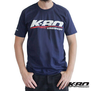 132e0bebe03 Image is loading Krieghoff-K-80-Sport-T-Shirt-Navy