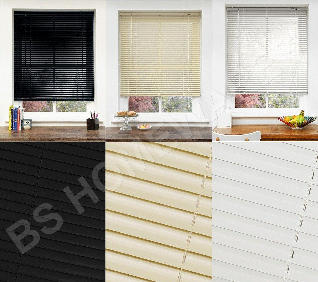 Pvc Blinds Window Venetian Easy Fit Home Office Blind All