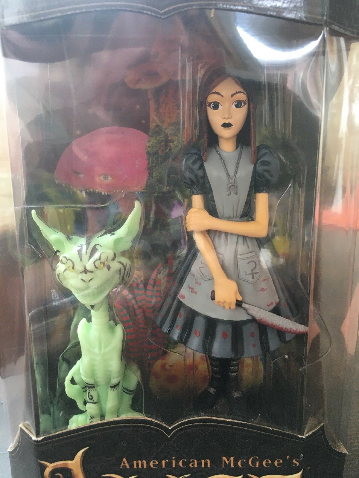 American McGee's Alice and the Cheshire Cat Tower Records Exclusive GITD