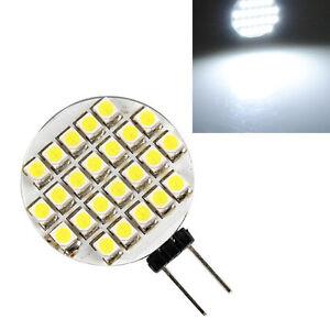 5X-G4-1210-SMD-24-LED-Lumiere-Lampe-Ampoule-SPOT-Bulb-Blanc-6000-6500K-DC-12V-WT
