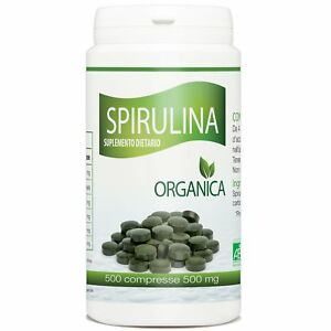 Spirulina-Biologica-500mg-500-compresse