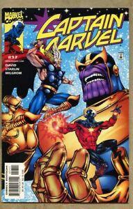 Captain-Marvel-17-2001-fn-vf-7-0-Peter-David-Jim-Starlin-Thanos-Thor
