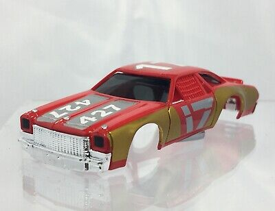 100% Waar Johnny Lightning Chevelle Stock Car Body, Red/gold, Fits Afx / X-traction Matige Prijs
