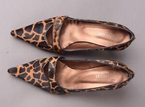 GUCINARI DESIGNER Low Heel Court Shoes