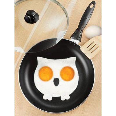 Stampino In Silicone Per Cucinare Omelette e Uova Fritte a Forma Di Gufo