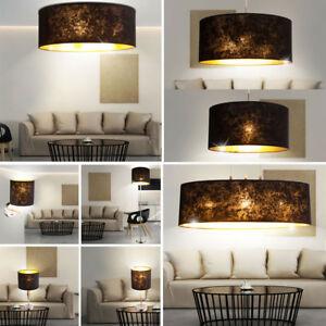 Luxe-Suspendu-Couvrir-Pied-Mur-Lampe-de-Table-Chambre-a-Coucher-Couloir-or-Noir