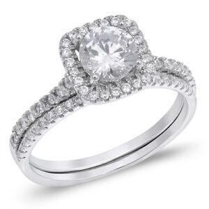 Brillante-Diamante-Sintetico-Halo-Plata-de-Ley-Set-Anillo-Compromiso-1-43