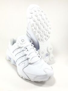 wholesale dealer a0e02 09bc3 Image is loading Nike-Shox-NZ-Running-Shoes-Men-039-s-