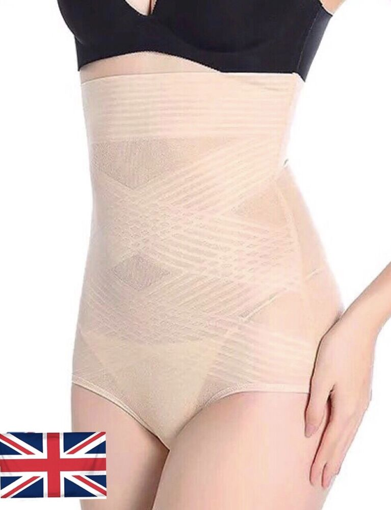 Mesdames Femmes Ultra-mince Taille Haute Façonner Culotte Sous-vêtements Sans Couture Shaper Pantalon