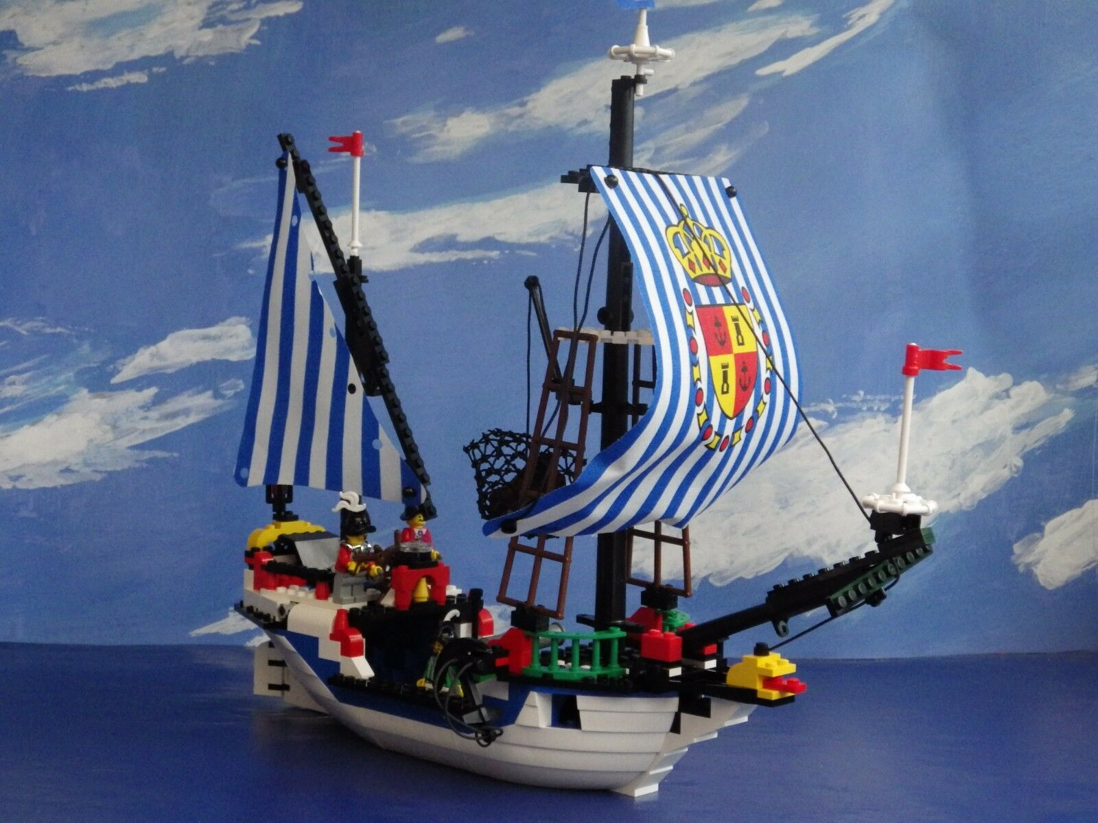VINTAGE LEGO 6280 IMPERIAL ARMADA FLAGSHIP 100% COMPLETE BOX INSTRUCTIONS FIGURE