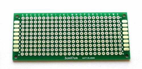 1//10//20 Stück Doppelseitige Lochrasterplatine PCB Leiterplatte für Arduino