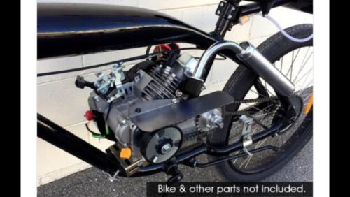 4-Stroke CNC 79cc Tranny  Motorized Bicycle