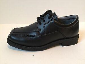 Jumping Jacks Edward Dress Shoes Black Leather Baby Boys ...