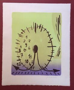 Florian Mora Berg, Magic Moments (...), litografia, 2012, firmato a mano