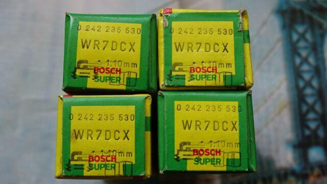 4 x Bosch Zündkerzen WR7DCX NEU