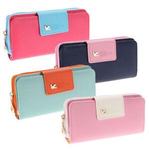 Long-Women-Wallets-Card-Holder-Female-Zipper-Clutch-Purse-Coin-Money-Bag-8Y