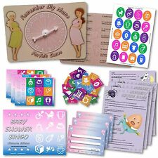 Baby Shower Party Game  -   3 GAMES    -  Unisex  -  20 players  -  FREE POSTAGE