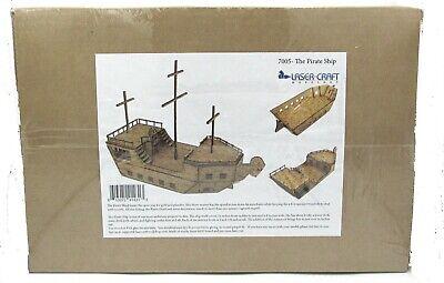 Laser Craft Workshop 7005 The Pirate Ship (Open Seas) Ram's Head Sailing  Vessel 613072914313 | eBay