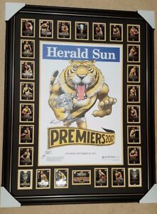 2017-Richmond-MARK-KNIGHT-Premiership-COMMON-Poster-FRAMED-PREMIERSHIP-cards