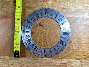 Nice Vintage Clock Chapter Ring (NOS) (Clock Dial Lot K753)