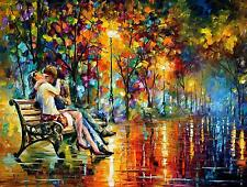 "PASSION EVENING —  Oil Painting On Canvas By Leonid Afremov. Size: 40""x30"""