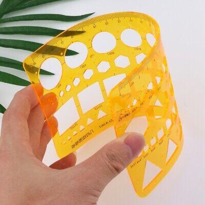 Biegbar Geometrie Gummi Lineal Multifunktion Vorlage Messung Tool Schreibwaren