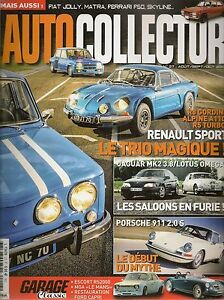 AUTO COLLECTOR 27 FIAT 600 JOLLY MATRA MS620 PORSCHE 911 S 2.0 ESCORT RS 2000
