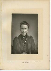 Vintage-Schrank-Karte-von-W-amp-D-Downey-Mrs-Sophia-Bryant-Mathematical-Scholar