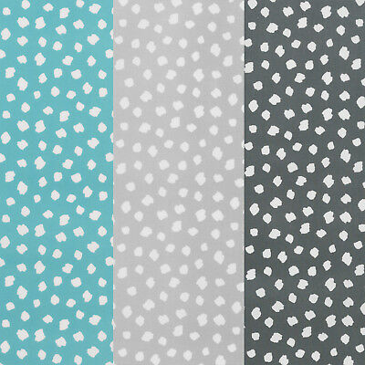Polka Dot Style Duck Egg Popcorn Wipeclean Oilcloth Tablecloth Multiple Sizes