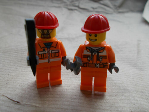 PAIR OF NEW LEGO MINIFIGURES LEGO CITY WATER POLICE CONSTRUCTION  PICK 1 U WANT