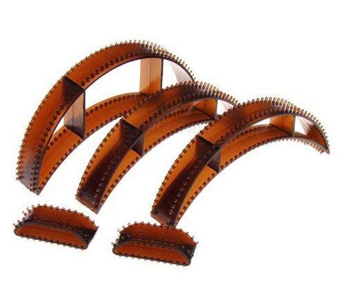 5 SATZ Bumpits Füllstoff mit Klettband Haar haarkamm Volumenreifen Duttkissen*