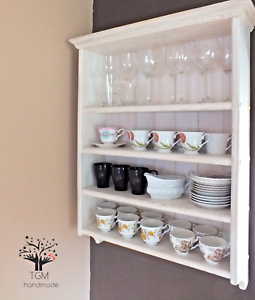 Handcrafted Kitchen's Shelving Unit | Cottage Style ...
