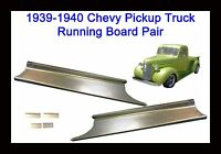 1939 1940 Chevrolet Panel Delivery & Chevy Pickup Truck Steel Running Board Set