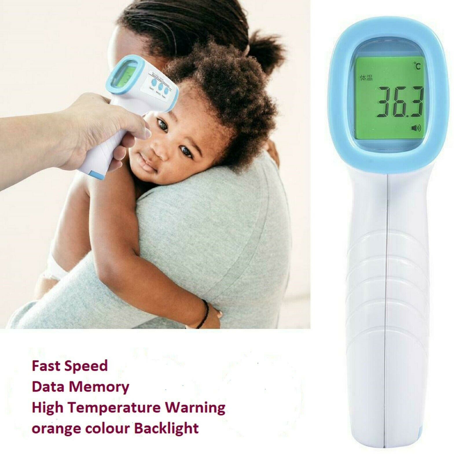 Thermometers ARTIFUN Forehead and Ear