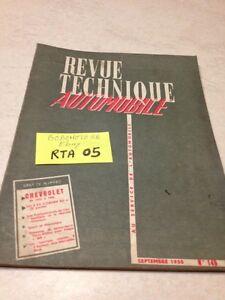Revision-Automocion-GM-Chevrolet-55-a-59-etude-2CV-Citroen-ed-1958