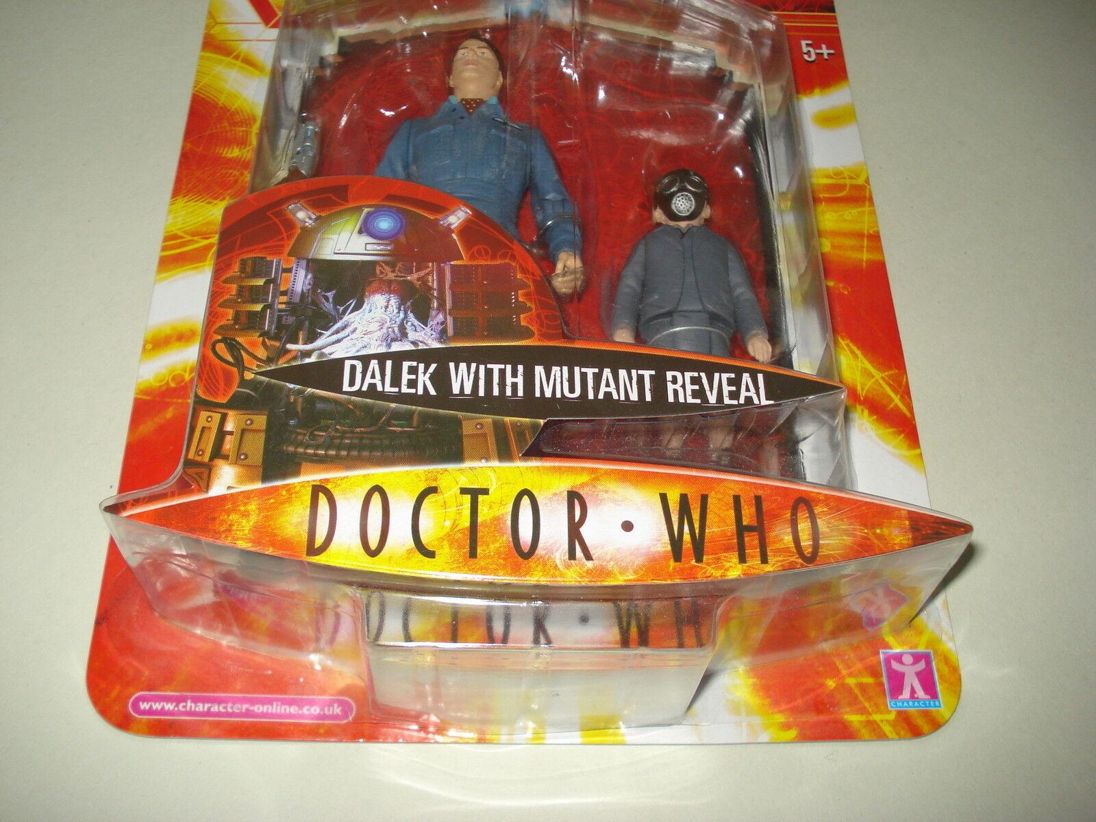 Doctor Who Dalek mutante revelan error de fábrica 5  Figura de Acción 2006 si usar En Blister Perfecto Estado Nuevo