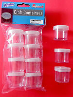 Craft Containers Mini Plastic Storage Jewelry Beads Drugs Pill