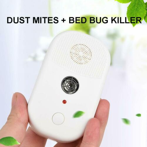 Bed Bug And Dust Mite Killer Repeller Ultrasonic Wave Technology Household CA