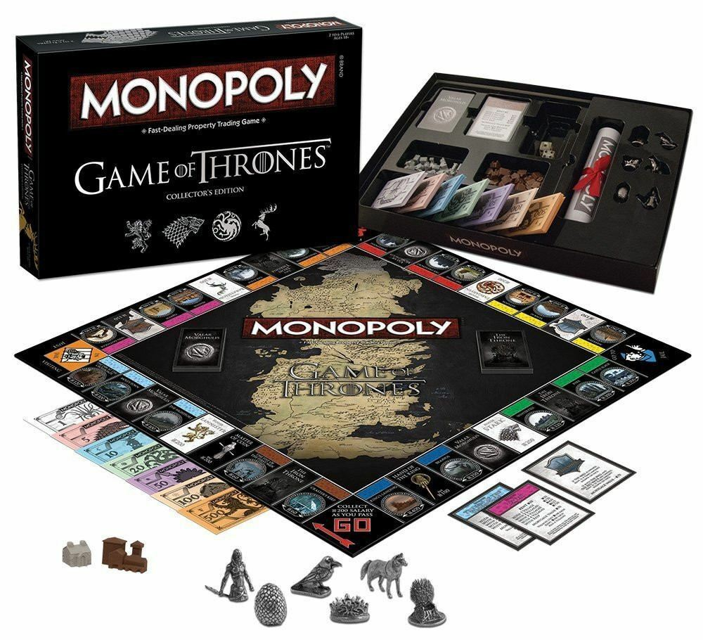 Monopoly Game Of Thrones Collectors Edition, Deluxe Edition Board Game